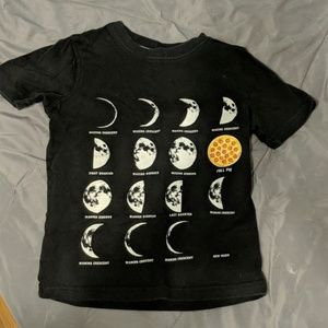 Carter's pizza moon t-shirt